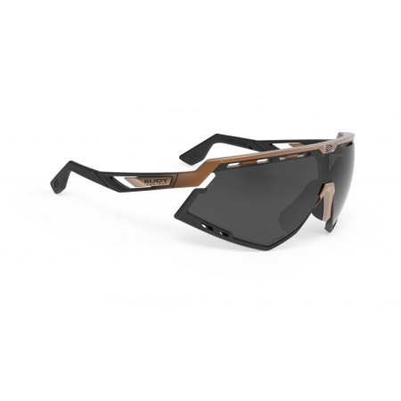 Oculos Rudy Project Defender Smoke Black Fade Bronze Matte/Black