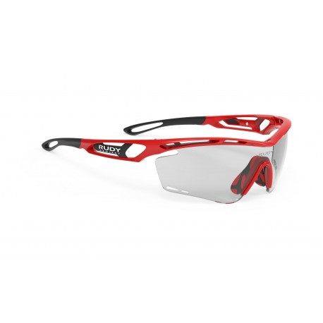 Oculos Rudy Project Tralyx Fire Red Gloss - ImpactX Photochromic 2 Black